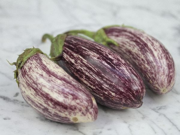 Баклажан Eggplant Edirne Purple Striped F1
